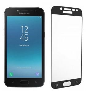 Стекло Samsung J2 Pro 2018 – Full Glue (Клей по всей поверхности)
