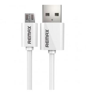 USB Кабель Micro USB Remax Fast RC-007m – 1 м (Белый)