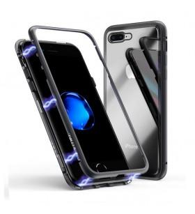 Магнитный чехол для iPhone 8 Plus Magnetic Case – OneLounge Glass