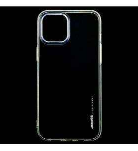 Чехол силиконовый SMTT iPhone 12 Pro Max – Прозрачный