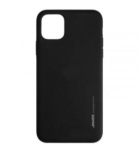 Чехол силиконовый SMTT iPhone 12 черный