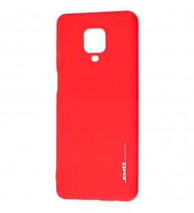 Чехол силиконовый SMTT Xiaomi Redmi Note 9S красный