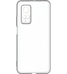 Чехол силиконовый SMTT Xiaomi Mi 10T – Прозрачный