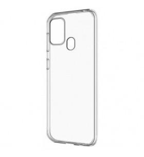 Чехол силиконовый Samsung Galaxy A21s A217 – Smtt (Прозрачный)