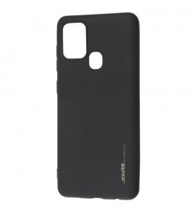 Чехол силиконовый Samsung Galaxy A21s A217 – Smtt (Черный)