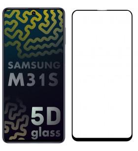 5D Стекло Samsung Galaxy M31s M317 – Full Glue (полный клей)