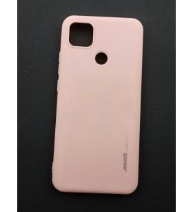 Чехол силиконовый Xiaomi Redmi 9C – Smtt (Розовый)