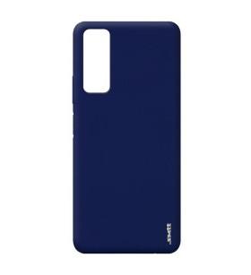 Чехол силиконовый Huawei P Smart 2021 – Smtt (Синий)