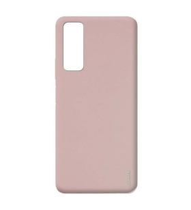 Чехол силиконовый Huawei P Smart 2021 – Smtt (Розовый)