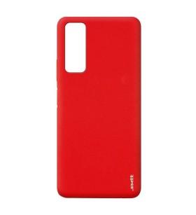 Чехол силиконовый Huawei P Smart 2021 – Smtt (Красный)