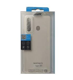 Чехол силиконовый Huawei P Smart 2021 – Smtt (Прозрачный)