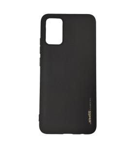 Чехол силиконовый Samsung Galaxy A02s – Smtt (Черный)