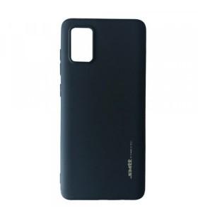 Чехол силиконовый Samsung Galaxy A71 – Smtt (Черный)