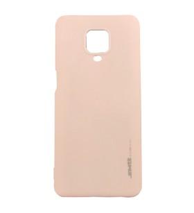 Чехол силиконовый Xiaomi Redmi Note 9 Pro – Smtt (Розовый)