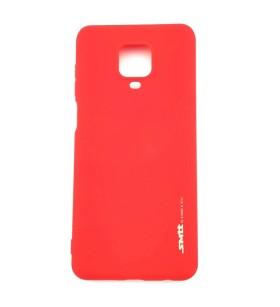 Чехол силиконовый Xiaomi Redmi Note 9 Pro – Smtt (Красный)