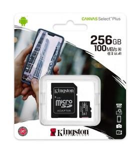Карта памяти Micro SD 256GB (Class10) + Adapter – Kingston