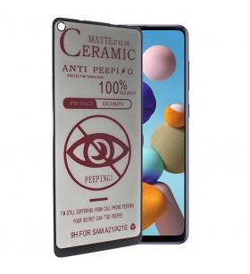 Матовое стекло Samsung Galaxy A21s – Ceramics