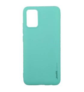 Чехол силиконовый Samsung Galaxy A02s (A025) – Smtt (Бирюзовый)