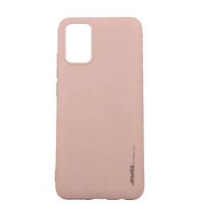 Чехол силиконовый Samsung Galaxy A02s (A025) – Smtt (Розовый)