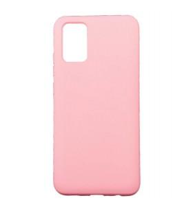 Силиконовый Чехол Samsung Galaxy A02s (A025) – Full Cover (Розовый)