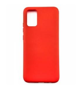 Силиконовый Чехол Samsung Galaxy A02s (A025) – Full Cover (Красный)