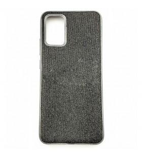 Цветной чехол Samsung Galaxy A02s (A025) – Shine (Черный)