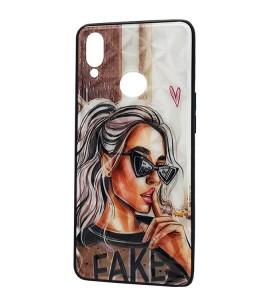 Чехол Samsung Galaxy A10s – Lady Fake Fashion Mix