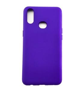 Силиконовый Чехол Samsung Galaxy A10s – Full Cover (Фиолетовый)