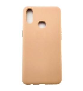 Силиконовый Чехол Samsung Galaxy A10s – Full Cover (Персиковый)