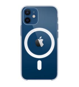 Силиконовый Чехол iPhone 12 – MagSafe (Прозрачный)