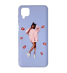 Силиконовый Чехол Samsung Galaxy A12 (A125) – ART Lady Like