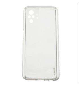 Чехол силиконовый Xiaomi Redmi Note 10 Pro – Smtt (Прозрачный)