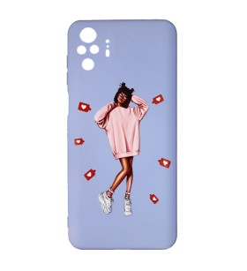 Силиконовый чехол Xiaomi Redmi Note 10 Pro – ART Lady Like