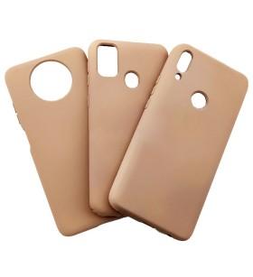 Силиконовый Чехол Samsung Galaxy A21s – Full Cover (Пудра)
