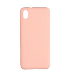 Силиконовый Чехол Xiaomi Redmi 7A – Full Cover (Розовый)