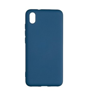 Силиконовый Чехол Xiaomi Redmi 7A – Full Cover (Темно-синий)