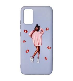 Силиконовый чехол Samsung Galaxy A02s – ART Lady Like