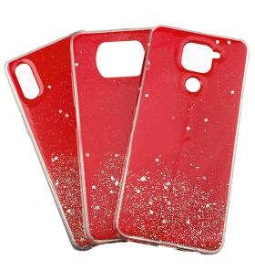 Чехол Metal Dust Xiaomi Poco X3 – Красный