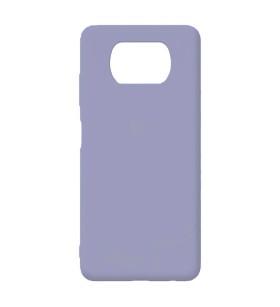 Силиконовый Чехол Xiaomi Poco X3 – Full Cover (Фиолетовый)