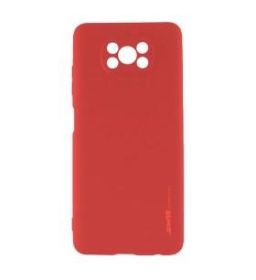 Чехол силиконовый Xiaomi Poco X3 – Smtt (Красный)