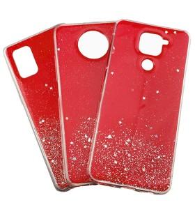 Чехол Metal Dust Samsung Galaxy A71 – Красный