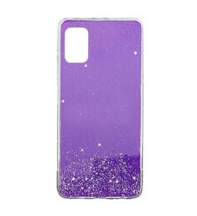 Чехол Metal Dust Samsung Galaxy A71 – Фиолетовый