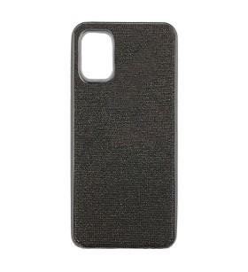 Цветной чехол Samsung Galaxy A71 – Shine (Черный)
