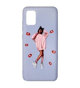 Силиконовый чехол Samsung Galaxy A71 – ART Lady Like