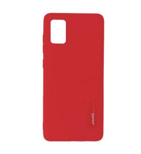 Чехол силиконовый Samsung Galaxy A71 – Smtt (Красный)
