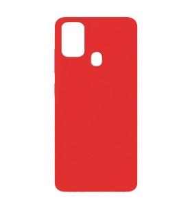 Силиконовый Чехол Samsung Galaxy F41 – Full Cover (Красный)