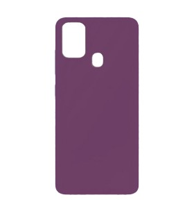 Силиконовый Чехол Samsung Galaxy F41 – Full Cover (Фиолетовый)