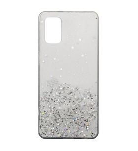 Чехол Metal Dust Xiaomi Poco M3 – Белый