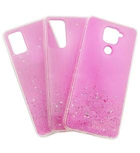 Чехол Metal Dust Xiaomi Poco M3 – Розовый