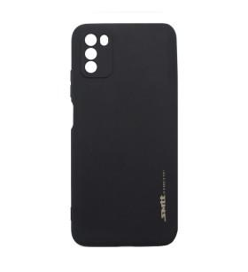 Чехол силиконовый Xiaomi Poco M3 – Smtt (Черный)